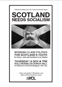 Public Meeting: Scotland Needs Socialism
