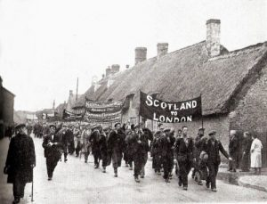 On this day . . . 1929: Scottish NUWM Contingent Sets Off For London