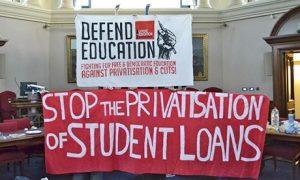Student Protests at Birmingham University