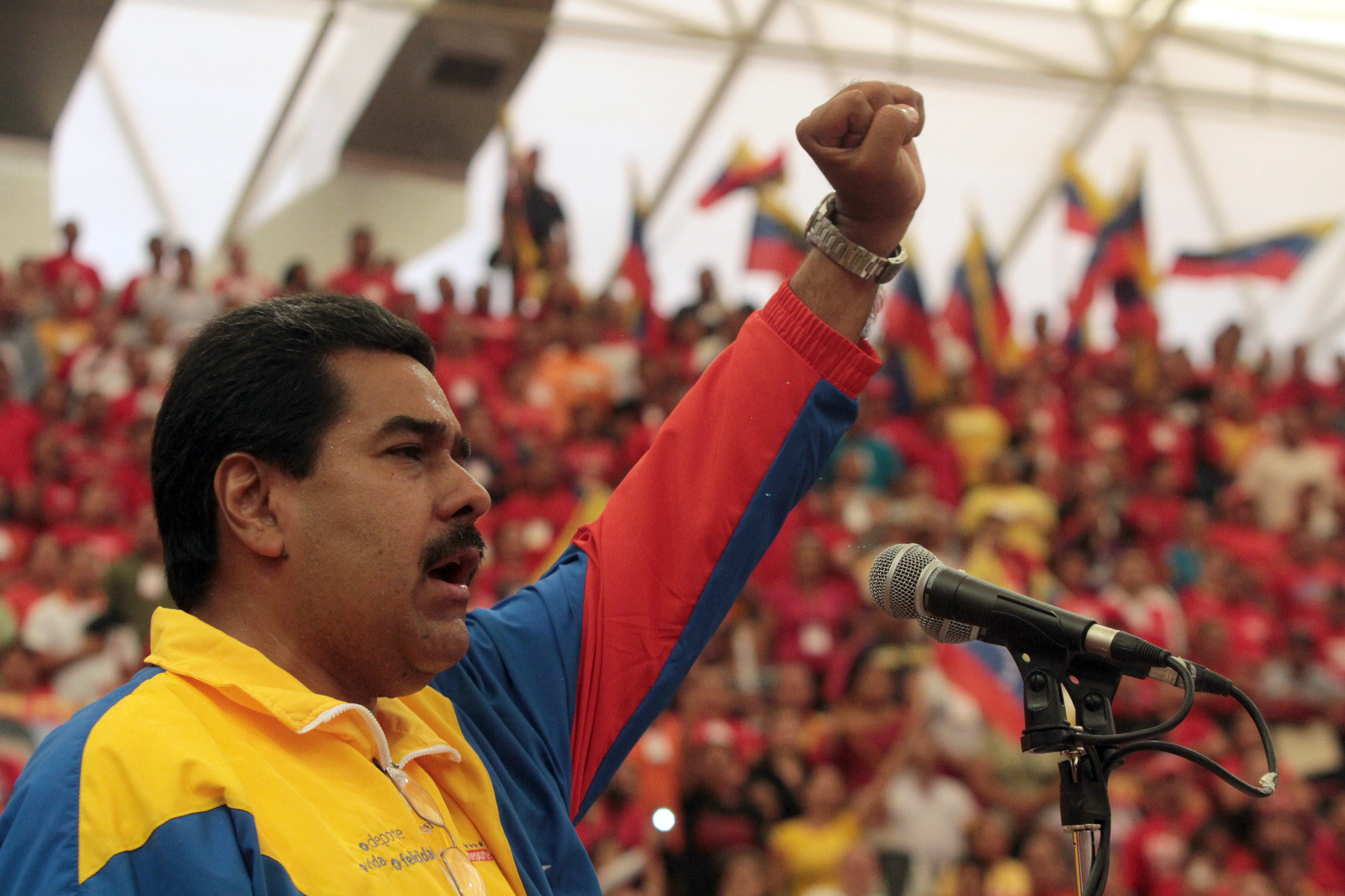 Support the people's government and Bolivarian revolution.
