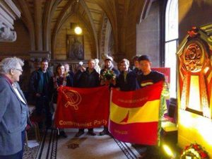 YCL North-West Remember the International Brigades
