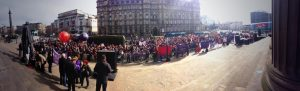 Liverpool Marches to Defend Public Services