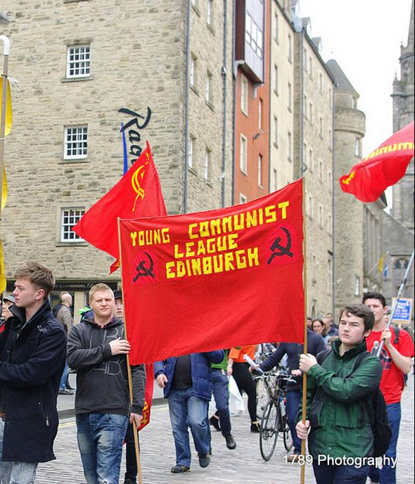 Scottish YCLers are advocating class politics not opportunist separation