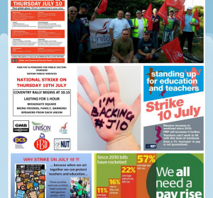 YCL Statement on July 10 National Strike
