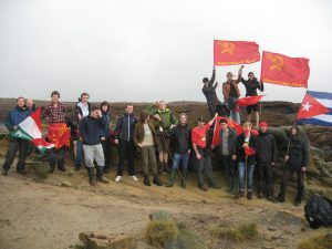 Young Communists Climb to Victory at First Annual Camp