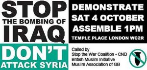Britain's Communists say: No to Imperialist War! Solidarity against Sectarian Terror!