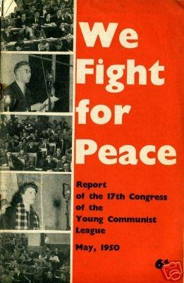 Report from the YCL's 17th Congress in 1950