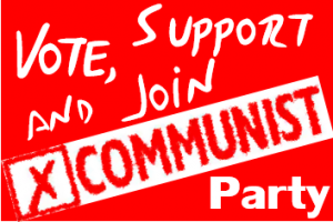 General Election – Volunteer for socialism, Donate to the campaign, Join the Party