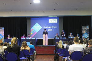 Rossington speaks out for Students and Youth