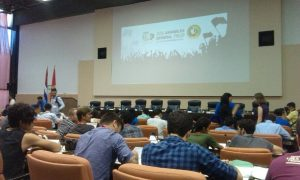 YCL at the General Assembly of WFDY