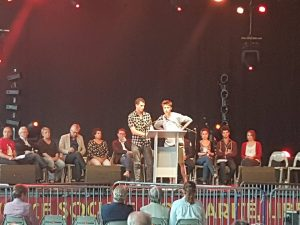 YCL General Secretary Debates EU With French Young Communists
