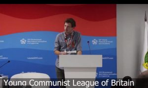 YCL address to International Communist Youth on the achievements of the October Revolution #WFYS2017