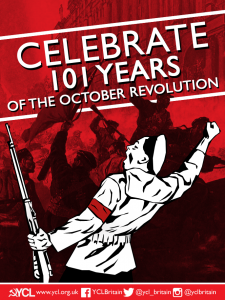 101 Years of the Great October Socialist Revolution