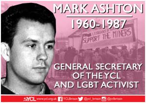 Mark Ashton: 1960 – 1987