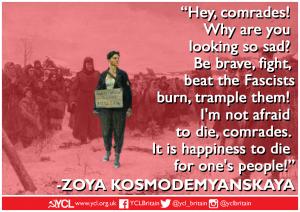 International Women's Day: Zoya Kosmodemyanskaya