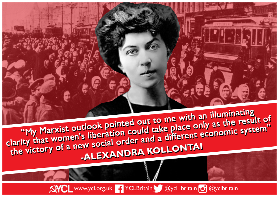 YCL Alexandra Kollontai poster copy copy