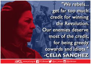 International Women's Day:  Celia Sánchez