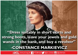 International Women's Day: Constance Markievicz