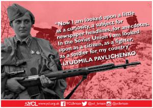 International Women's Day: Lyudmila Pavlichenko