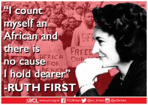 International Women's Day: Ruth First