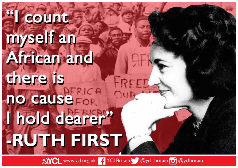 YCL Ruth First poster copy