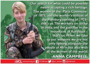 International Women's Day: Anna Campbell