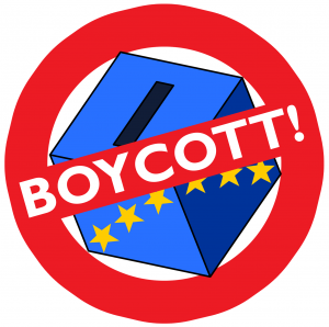 Appeal to the Youth: Boycott the EU Elections on 23 May!