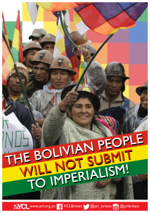 YCL Statement condemning the Military Coup in Bolivia