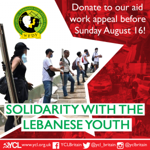 Donate Now – Aid Work Appeal for the Union of Lebanese Democratic Youth