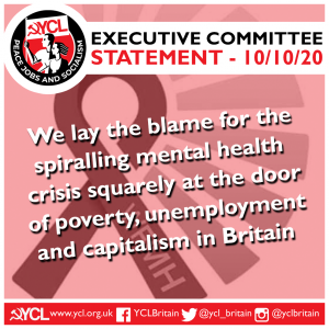 YCL statement on World Mental Health Day 2020