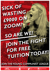 YCL Student Commission renews fight against tuition fees