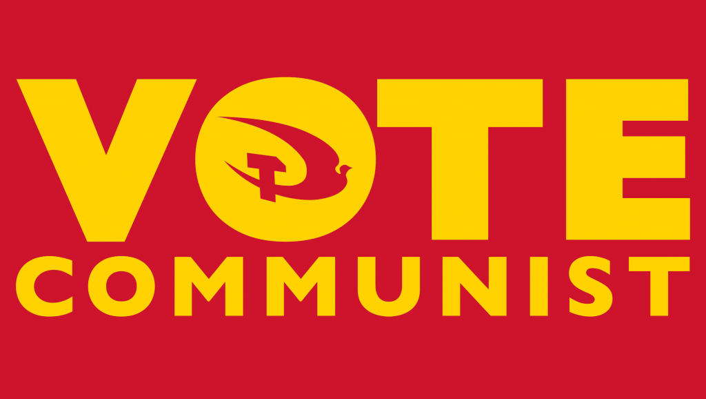 Vote Communist on the 6th May